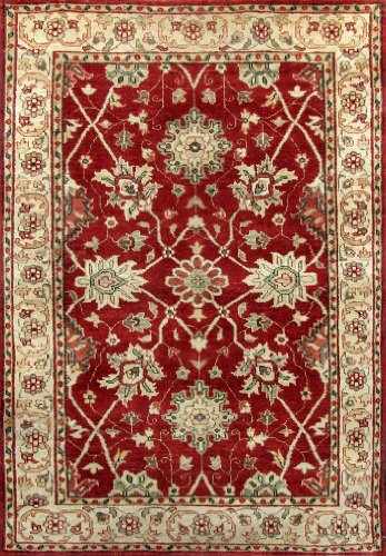 Free Shipping & Free Pad 4x6 Vegetable Dye Hand Knotted Handmade turkish Oushak Wool Rug H315