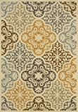 "Granville Rugs Bali Indoor/Outdoor Area Rug, Multi, 3' 7"" x 5' 6"""