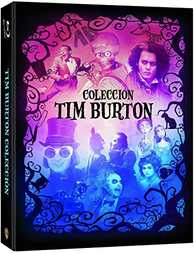 Tim Burton Collection - 9-Disc Box Set ( Batman / Batman Returns / Beetlejuice / Mars Attacks! / Pee-wee's Big Adventure / Charlie and the Chocolate Factory / Swe [ Blu-Ray, Reg.A/B/C Import - Spain ]