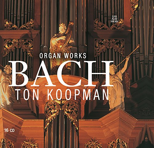 CD : J.S. Bach - Bach J.s: Complete Organ Works (Boxed Set, 16PC)