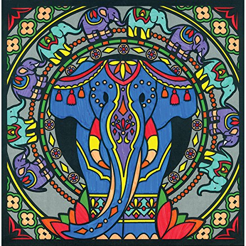 Faber-Castell - Color by Number 3D Elephants - Premium Kids Crafts