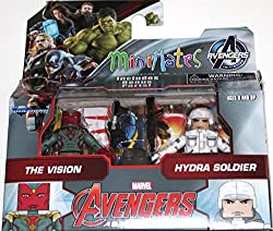 Marvel Avengers Age of Ultron Minimates Series 63 The Vision & Hydra Soldier 2