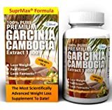 Garcinia Cambogia Extract Pure 1500mg Max Weight Loss Diet Pills For Women & Men Dr Oz Recommended 1300mg Best Dietary Supplements