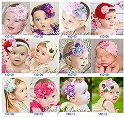 7 Kind of Different Super Cute Beautiful Baby Hand Wear Headband 12pcs (HD202(12PCS))