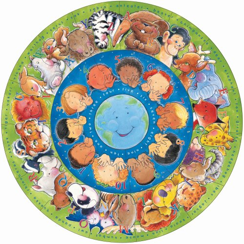 Circle of Friends Larger Floor Puzzle - 1