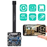 Real 4K Ultra HD DIY Wireless Camera Mini DVR Motion Detection Nanny Cam Security System Remote Control Action Camera up to 256GB Upgraded Version (Color: DIY X7 70 Degree Camera)