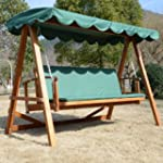 Outsunny Swing Chair Lounger Hammock...