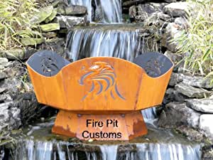 36 eagles nest fire pit garden outdoors for Amazon prime fire pit