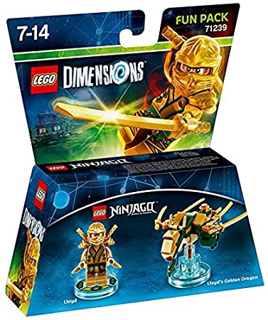 Lego Dimensions: Fun Pack Lloyd (Gold Ninja)