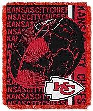 NFL Kansas City Chiefs SPIRAL 48x60 Triple Woven Jacquard Throw