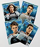 Entertainment Weekly Magazine (October 11, 2013) All 4 Covers - Hunger Games Catching Fire (Jennifer Lawrence, Josh Hutcherson, Liam Hemsworth, Sam Claflin)