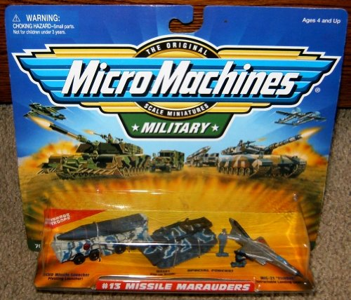 Micro Machines Missile Marauders #13 Military Collection