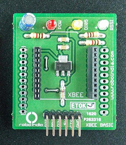 Robo India XBee adaptor and explorer