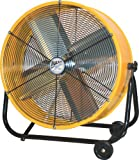 Ventamatic BF24TF YEL MaxxAir 24-Inch High-Velocity 2-Speed Portable Air Circulator, Yellow