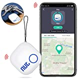 DinoFire Key Finder, Phone Finder Item Finder with Bluetooth Replaceable Battery Smart Tracker Locator - White (Color: A-Converter, Tamaño: Key Finder)