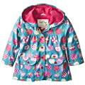 hatley baby girls infant infant raincoat patterned orchard