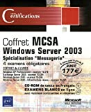 echange, troc ENI - Pack en 4 volumes : MCSA Windows Server 2003 : Spécialisation