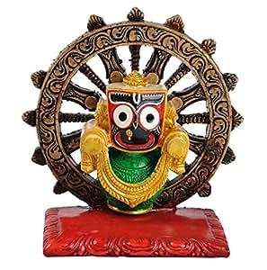 Riya's Signature Lord Jagannath Spirtual Home Decor Showpiece