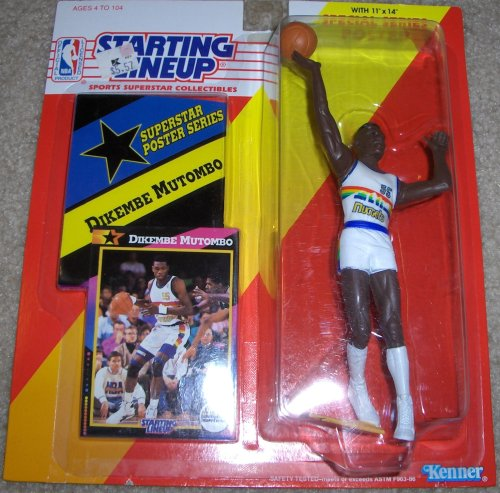 Dikembe Mutombo 1992 NBA Starting Lineup [Toy]