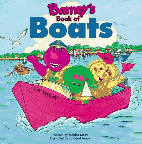 Image for Barney's Book of Boats (Barney Transportation Series)