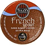 Tully's Coffee French Roast, Keurig K-Cups, 72 Count