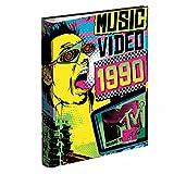 MTV - Carpeta anillas, color amarillo y azul (Montichelvo 21385)