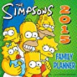 Official the Simpsons Family Planner Wall Calendar 2015