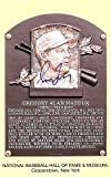 Greg Maddux Signed HOF Postcard Atlanta Braves - JSA Authentic - Autographed MLB Baseball Memorabilia