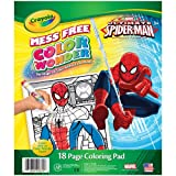 Crayola Color Wonder Spiderman Coloring Pad