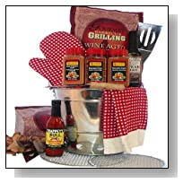 Art of Appreciation Gift Baskets Billy Joes Grilling on the Go Barbeque Basket
