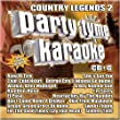 Party Tyme Karaoke - Country Legends Vol. 2