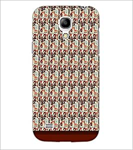 PrintDhaba Pattern D-1747 Back Case Cover for SAMSUNG GALAXY S4 MINI (Multi-Coloured)
