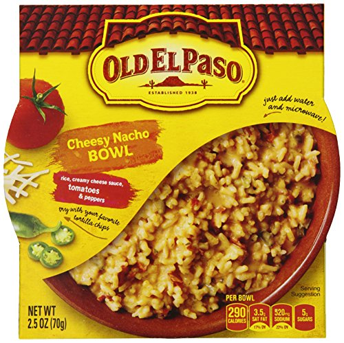 Old El Paso Cheesy Nacho Bowl, 2.5 Ounce (Pack Of 12)