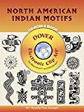 North American Indian Motifs CD-ROM and Book (Dover Electronic Clip Art)