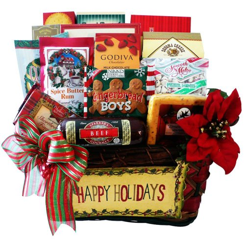 Art of Appreciation Gift Baskets   Happy Holidays