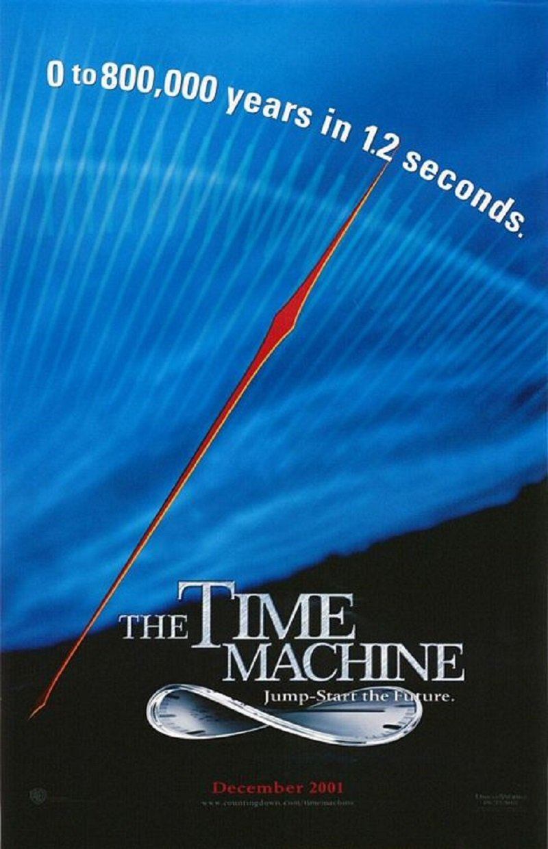 the time machine 2002 bluray