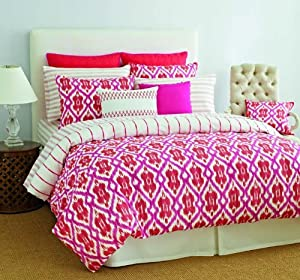 Amazon Com Tommy Hilfiger Preppy Ikat Cotton Comforter