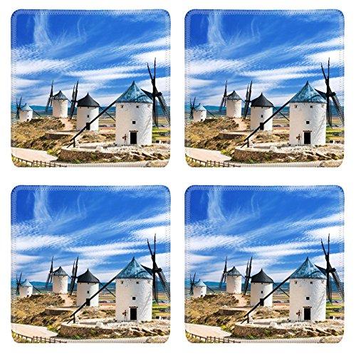 luxlady-square-coaster-group-of-windmills-in-campo-de-criptana-la-mancha-spain-image-37227683-custom