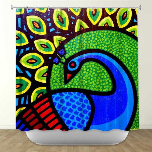 Shower Curtain Artistic Designer From DiaNoche Designs By John Nolan Home Decor And Bathroom Ideas
