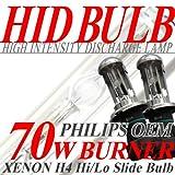 IMPRESSION HID H4 スライド式 70W バーナー 30000K ハイラックスサーフ H7.12~14.10 RZN180W.185W ヘッド