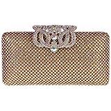 Fawziya® Crown Purses And Handbags Evening Bags Clutches