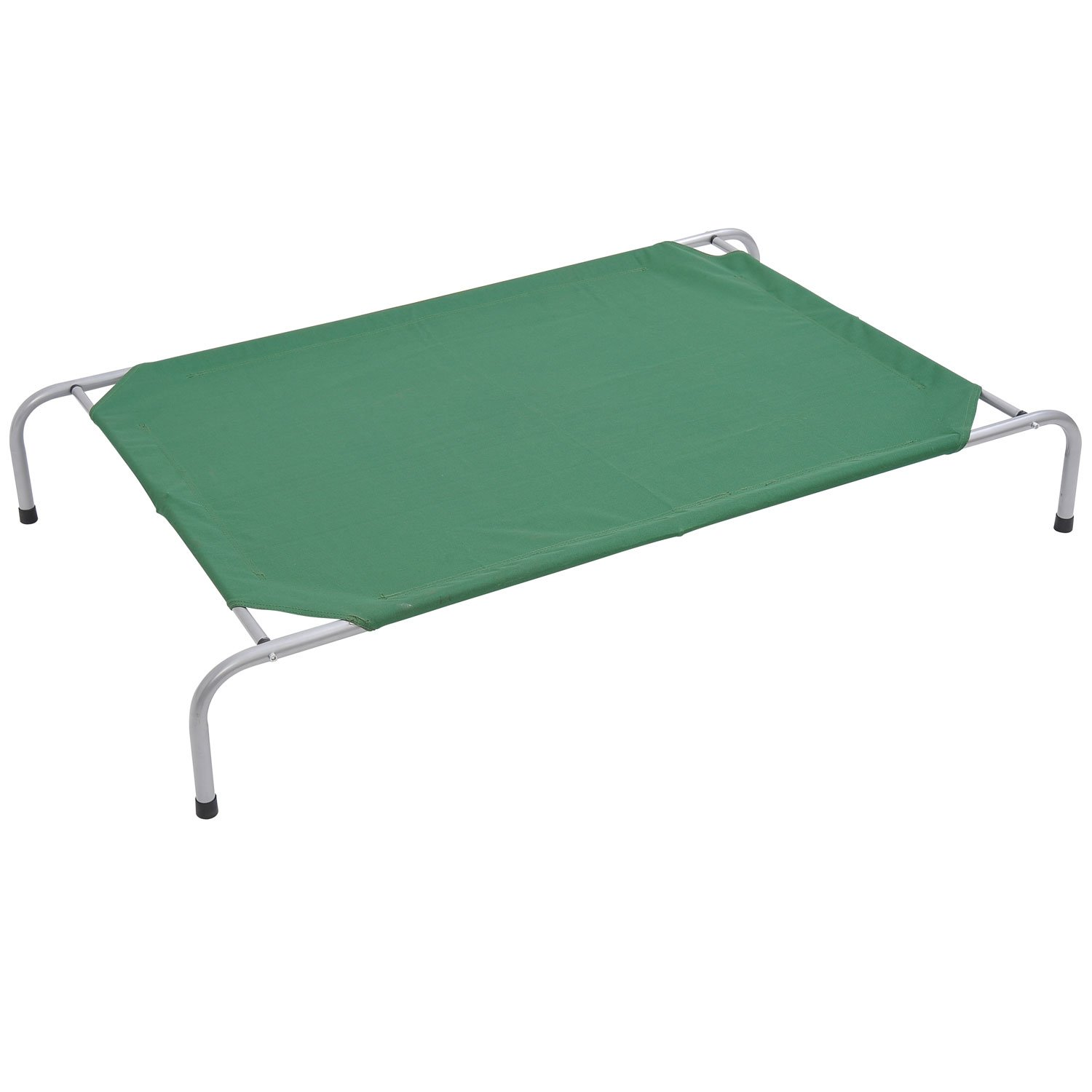 """Pawhut 33"""" x 24"""" Elevated Dog Bed / Pet Cot - Green at Sears.com"""