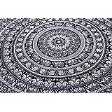 1 X Wall Art Mandala Hippie Tapestry Full Size Sheets Wall Cotton Bohemian Tapestry 92X82