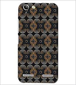 PrintDhaba Pattern D-5222 Back Case Cover for LENOVO A6020a46 (Multi-Coloured)