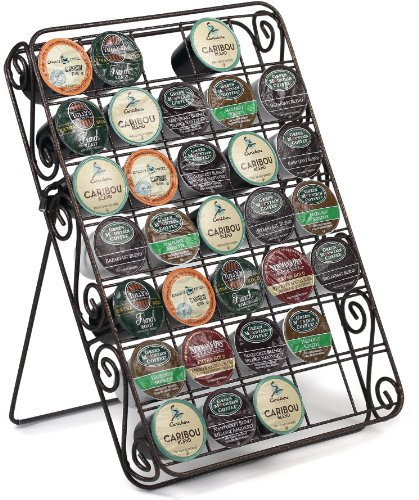 Universal K-cup Storage Rack 35 Capacity Can