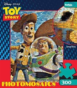 Buffalo Games Photomosaic: Woody and Buzz