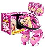 Stamp - Cb901341 - Accessoire Pour Finger Bike - Set Casque + Genouillères + Coudières + Patins Barbie