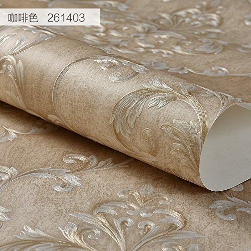xiagaoyuanyuan-tela-no-tejida-retro-continental-profunda-fina-estampado-marron-de-papel-tapiz