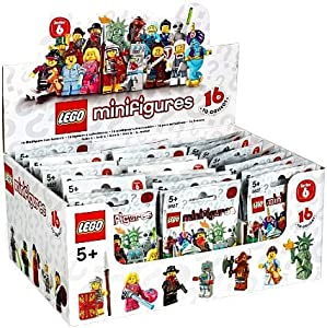 how to tell what lego minifigure is in the bag