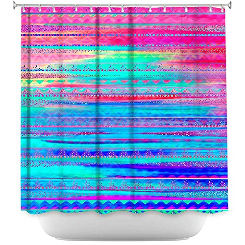 Ethnic Twilight Shower curtain pretty colors